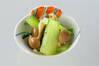 チンゲンサイのコショウ和えの作り方の手順