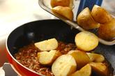 揚げジャガイモのピリ辛煮の作り方4