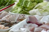 熱々海鮮鍋の下準備3