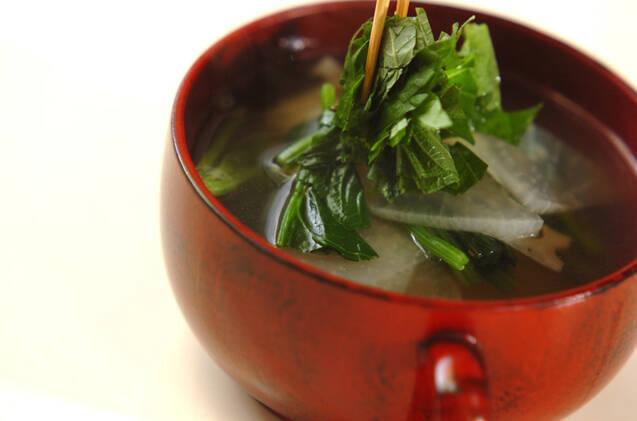 大根とレンコンのスープの作り方の手順5