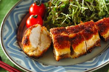 鶏肉のみそチーズ焼き