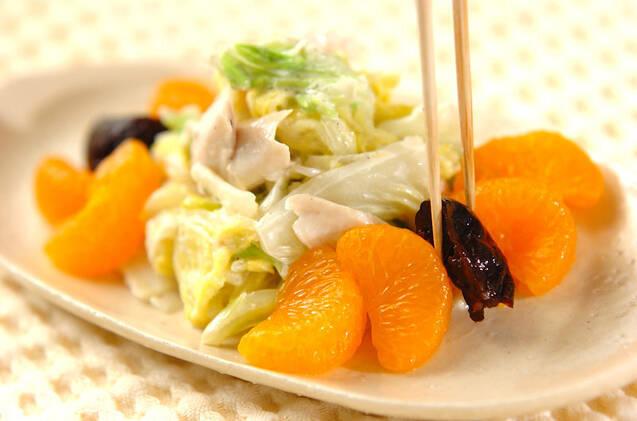 白菜サラダの作り方の手順7