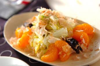 白菜サラダ