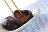 干しシイタケの甘煮の作り方3