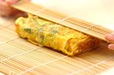 カニ風味カマボコ入りだし巻き卵の作り方3