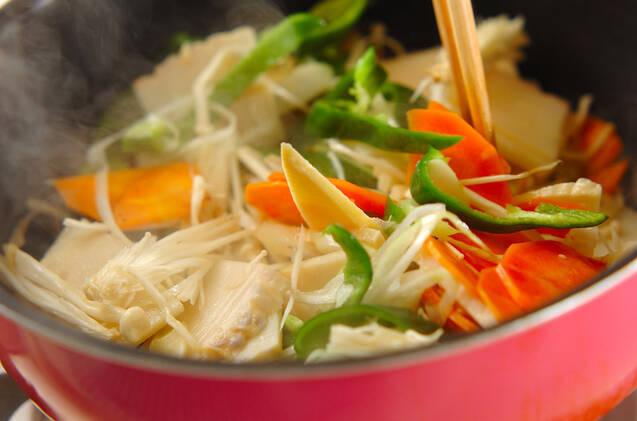 野菜のトロミ炒めの作り方の手順7