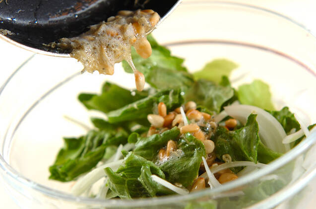 レタスとジャコのサラダの作り方の手順6