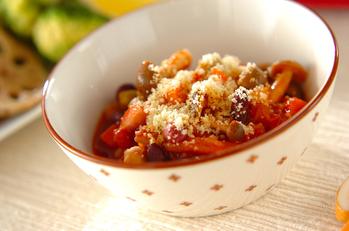 ビーンズトマト煮