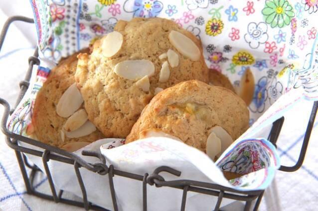 バナナのキャラメルクッキー