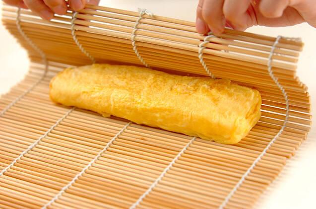 だし巻き卵の作り方の手順5