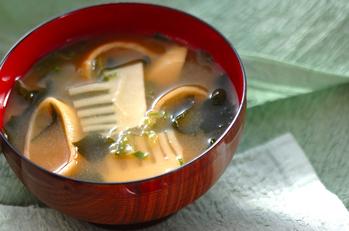 タケノコのみそ汁