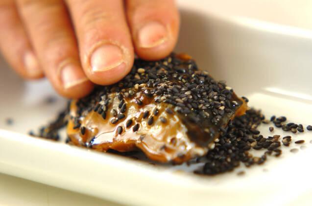 煮魚のゴマ焼きの作り方の手順1