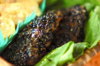 煮魚のゴマ焼き