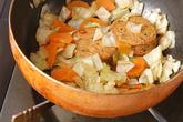 がんもとキャベツのサッと煮の作り方3
