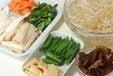 野菜のトロミ炒めの下準備1