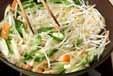 野菜のトロミ炒めの作り方1