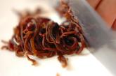 モヤシのふんわり卵スープの下準備3