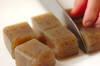 コンニャクのヘルシー煮物の作り方の手順1