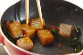 コンニャクのヘルシー煮物の作り方4