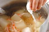 冬瓜のカニカマあんかけの作り方3