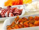 スモークサーモンのサラダの作り方の手順1
