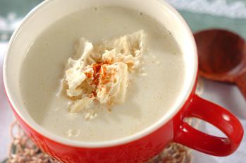 カリフラワーのホワイトスープ