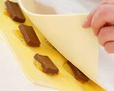 チョコレートの小さなパイ マーマレード風味の作り方4