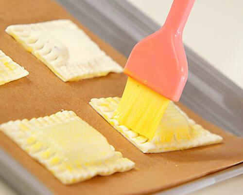 チョコレートの小さなパイ マーマレード風味の作り方の手順6