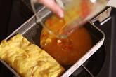 エビ卵焼き生春巻きの作り方3