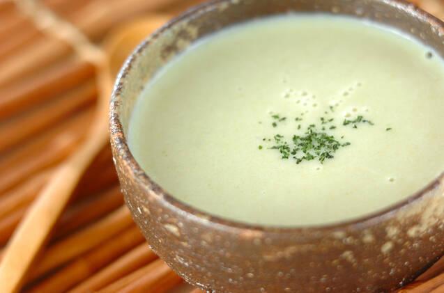 塩麹風味のキャベツポタージュ