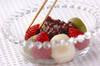 イチゴ白玉の作り方の手順5