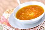 スパイシートマトスープ