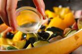 パプリカとズッキーニの炒め物の作り方5