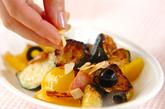 パプリカとズッキーニの炒め物の作り方2