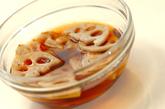 炒めレンコンの南蛮漬けの作り方2