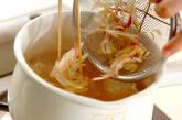 鶏団子汁の作り方4