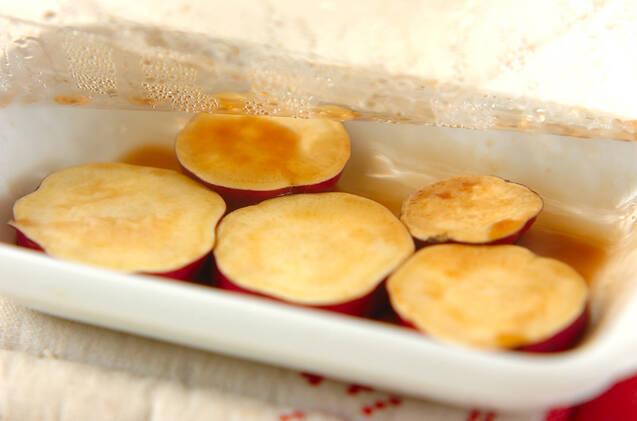 サツマイモのレンジ煮の作り方の手順3