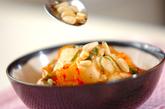長芋のキムチ和えの作り方1