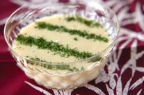 サツマイモの豆乳冷スープ