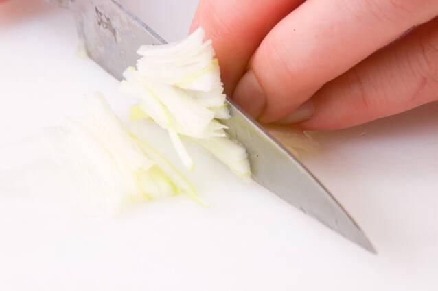 コリコリ砂肝炒めの作り方の手順1