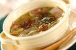 栗とベーコンのスープ