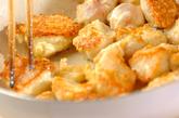 チキンソテーのハニーソースがけの作り方1