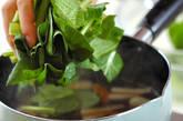 小松菜のサッと煮の作り方3