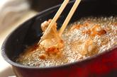 骨付き鶏肉の味から揚げの作り方2