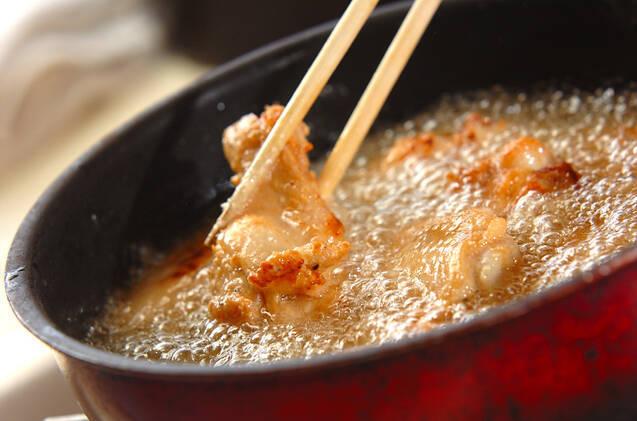 骨付き鶏肉の味から揚げの作り方の手順6