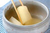 おだしがしみてる!冬瓜と油揚げの煮物の作り方の手順4