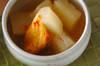 おだしがしみてる!冬瓜と油揚げの煮物の作り方の手順