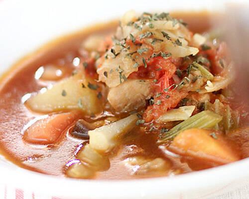 トマト味煮こみ