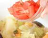 トマト味煮こみの作り方の手順2