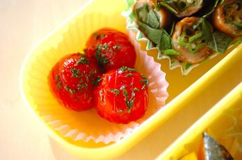 焼きプチトマト